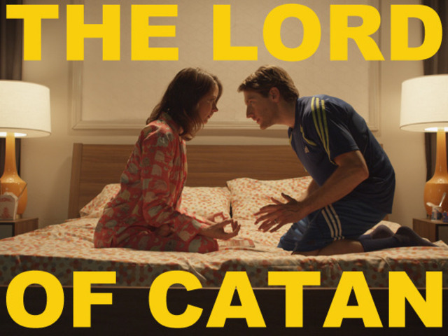 """The Lord of Catan"" starring Amy Acker (Angel, Dollhouse) and Fran Kranz (Dollhouse, Cabin in the Woods); by Stuart C. Paul"