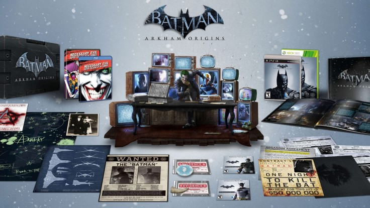 """Arkham Origins"" collector's edition - US version"