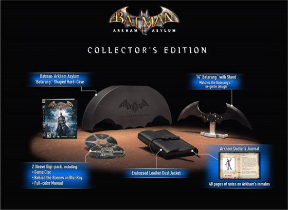 """Arkham Asylum"" collector's edition"