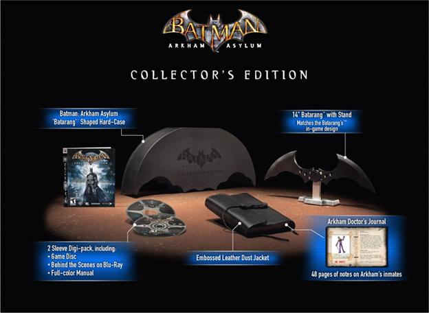 """Arkham Asylum"" collector's edition"