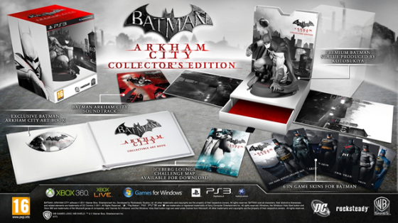 """Arkham City"" collector's edition"