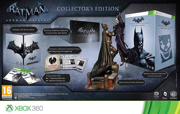 """Arkham Origins"" collector's edition"
