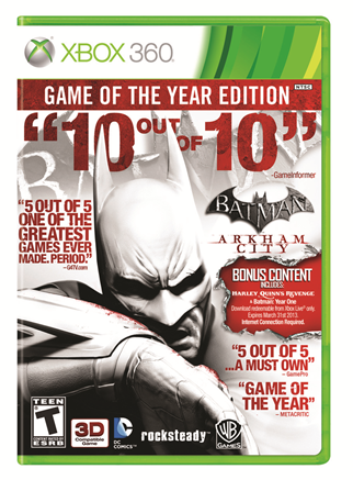 """Arkham City"" Game of the Year edition"