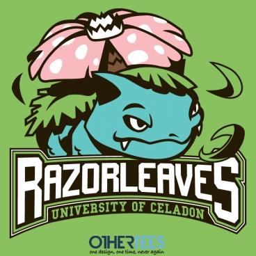 Celadon Rezorleaves at othertees.com