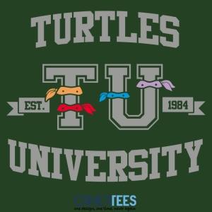 Turtles University at othertees.com