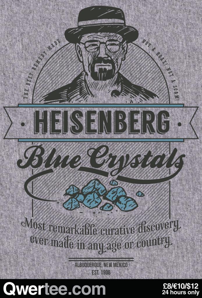 Heisenberg Blue Crystals (Qwertee)