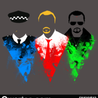 Three Flavours Cornetto at qwertee.com