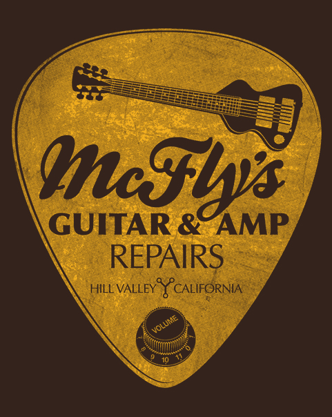McFly's Guitar & Amp Repairs at shirtpunch.com