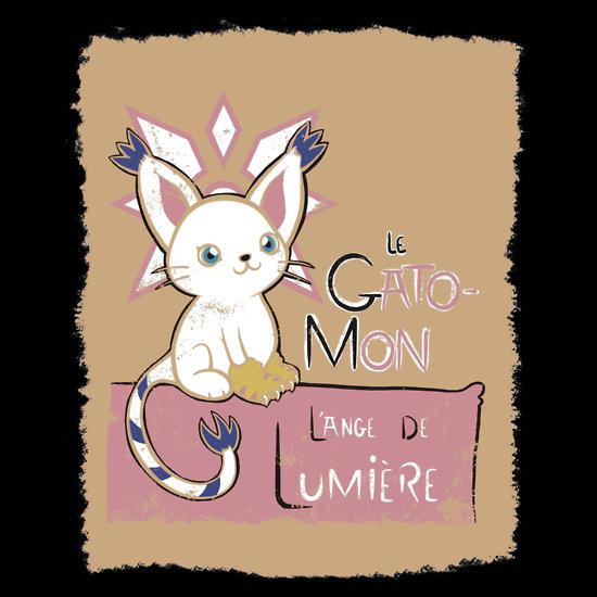 Le Gatomon Lange de Lumiere at shirtpunch.com