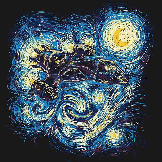 Starry Flight at shirtpunch.com