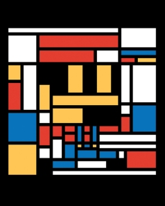 Super Mondrian Bros. at shirtpunch.com