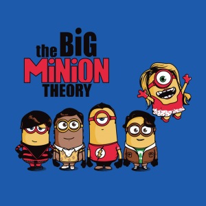 Big Minion Theory at shirtpunch.com