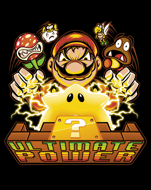 Ultimate Power at shirtpunch.com