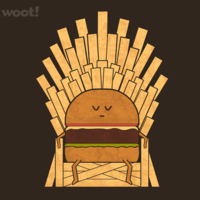 Game of Fries at shirt.woot.com