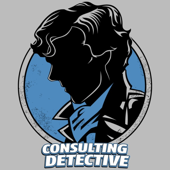 Consulting Detective at shirtpunch.com