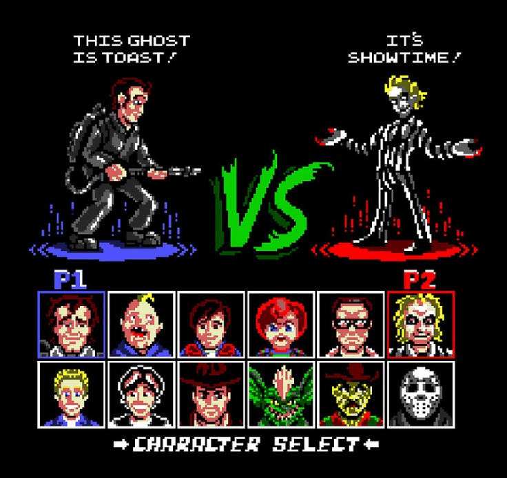 Super 80's Good vs Evil at shirtpunch.com
