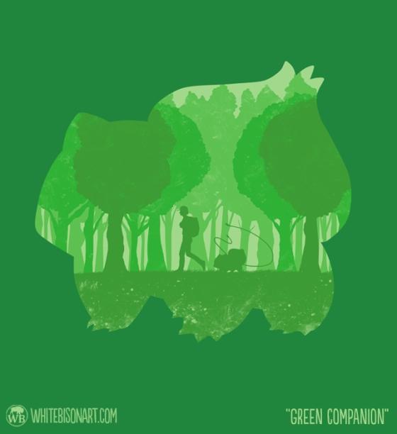 Green Companion at teefury.com