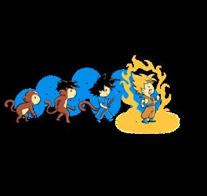 Saiyan Evolution at teefury.com