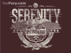 Space Pioneers at teefury.com