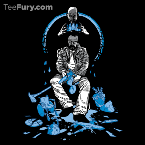 The King is Dead at teefury.com