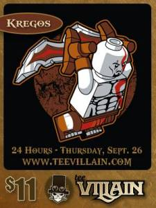 Kregos at teevillain.com
