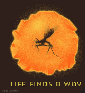 Life Finds A Way at theyetee.com