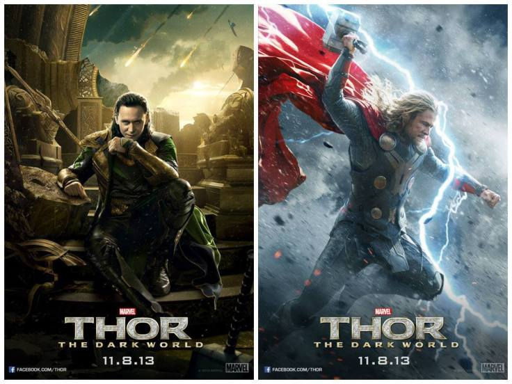 Thor AND Loki posters... Which will you choose?