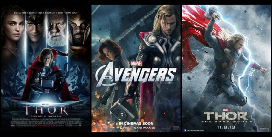 One day, three Thor movies!
