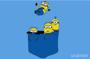 Pocket Minions at unamee.com