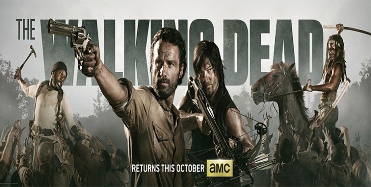 AMC's The Walking Dead returns this October.