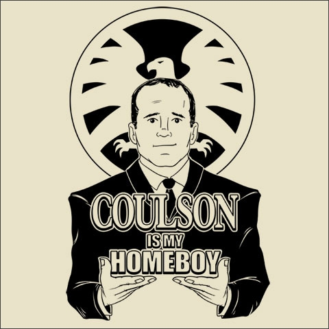 Coulson is my Homeboy at weeklyshirts.com