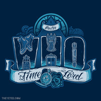 Infinite Who at theyetee.com