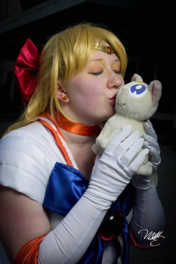 Kathleen as Sailor Venus