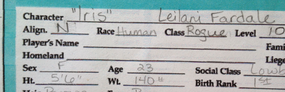 Look at that - a first name, a last name *and* an alias!
