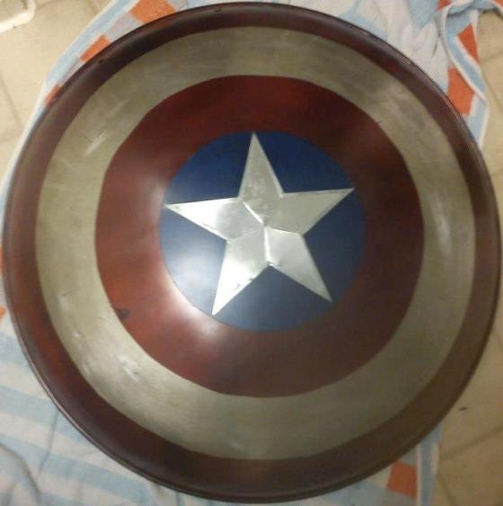 Cap's SHIELD made by one of our own!