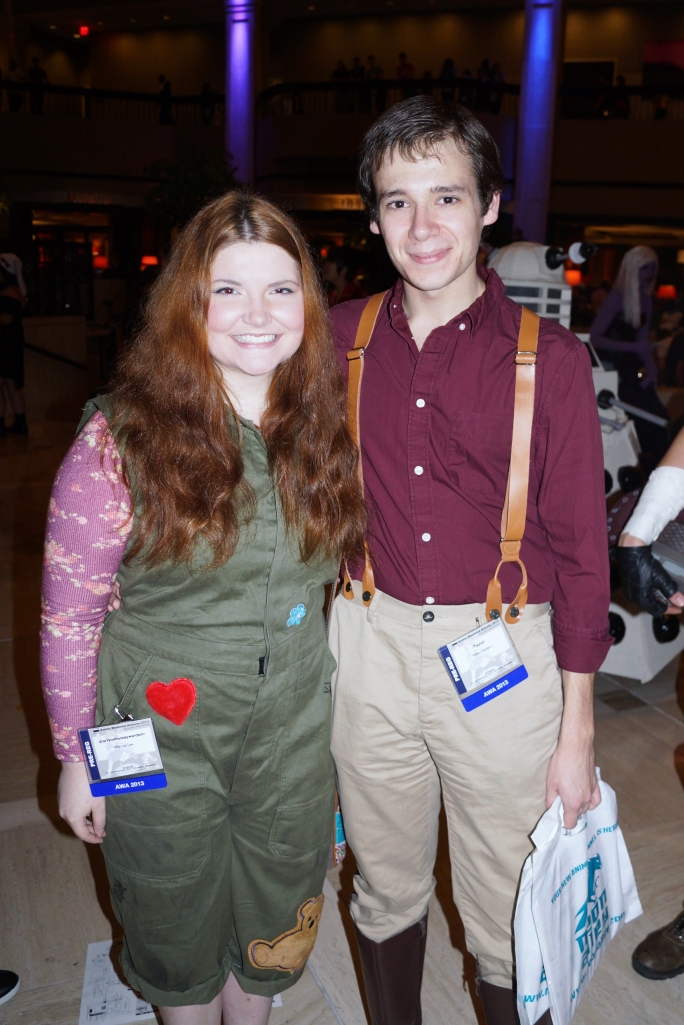 We didn't see a Simon & Kaylee, but we did see an adorable Kaylee with a Captain Mal!