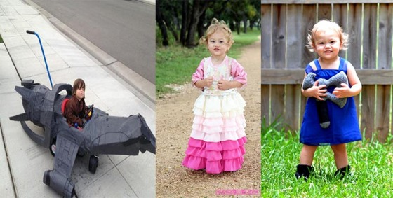 Adorable Firefly costumes for the little ones.