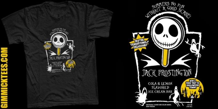 Jack Frostington at gimmicktees.com