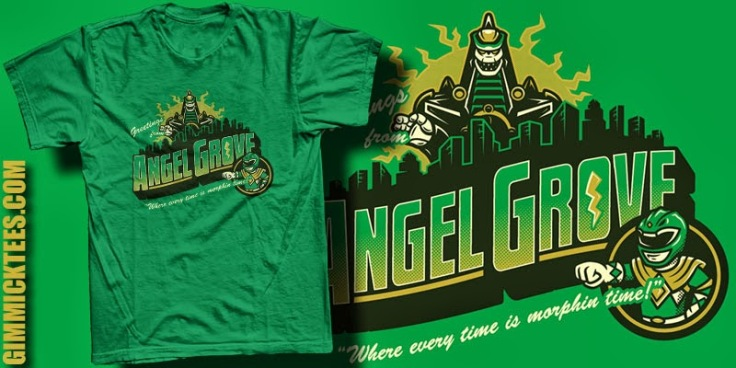 Welcome to Angel Grove 2 at gimmicktees.com