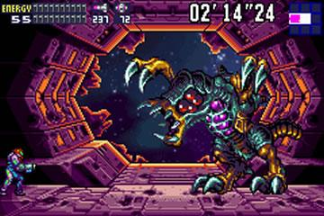 Metroid Fusion's final boss