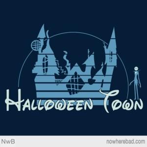 Halloween Town at nowherebad.com