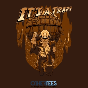 It's A Trap! at othertees.com