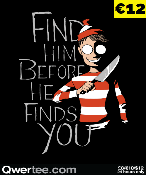 Hiding in the Dark at qwertee.com