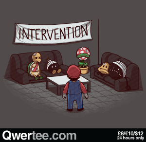 Intervention at qwertee.com
