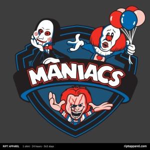 Maniacs IV at riptapparel.com
