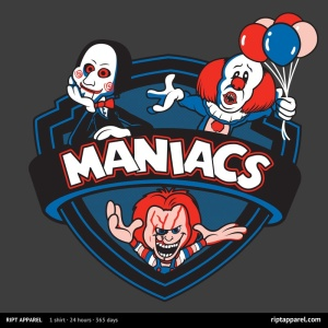 Maniacs IV at riptapparel.com