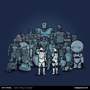 Not the Droids We Are Looking For at riptapparel.com