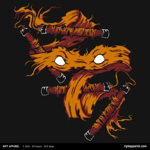 Orange Rage at riptapparel.com