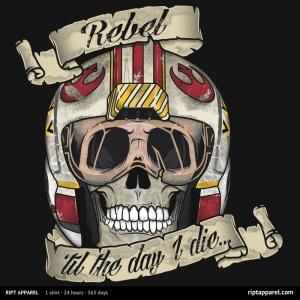 Rebel 'til The End at riptapparel.com