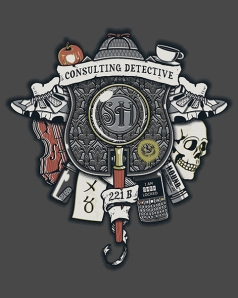 Counsulting Detective Crest at shirtpunch.com